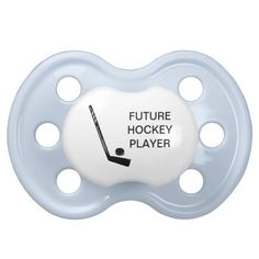 Future #Hockey Player Baby #Pacifier #zazzle #Sports