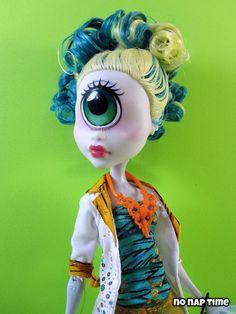 Nephthys custom monster high doll