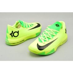 separation shoes 3632e 46c39 Kevin Durant nike for women    Nike Zoom Kevin Durant s KD VI Low Women s Basketball shoes GreenBlack ... Kd  Shoes, Sock Shoes,