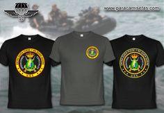 Infantería de Marina. UOE. Unidad de Operaciones Especiales. Boina Verde. Armada Española. Camisetas Militares. www.paracamisetas.com