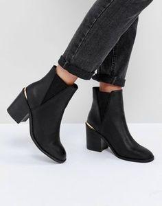 ASOS – ECHO – Chelsea-Stiefel mit Absatz