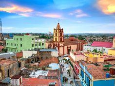 Historic center of Camaguey, Cuba