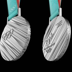 Breaking news: here are the medals for @PyeongChang2018 Good luck to all the athletes! #Olympics #PyeongChang2018