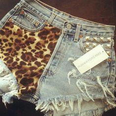 Shorts cheetah clothing clothes fashion beauty