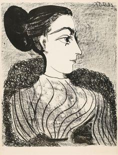 Portrait of MarieThérèse Walter Artist Pablo Picasso