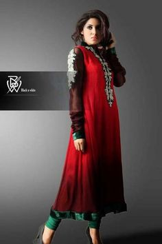 Latest Couture Semi Formal Wear 2013 For Women By Black & White (11)