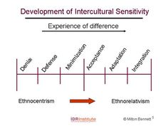 Expat Intercultural Sensitivity Development - Bennett's scale of Ethnorelativism