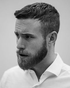 Coupe barbe homme cou