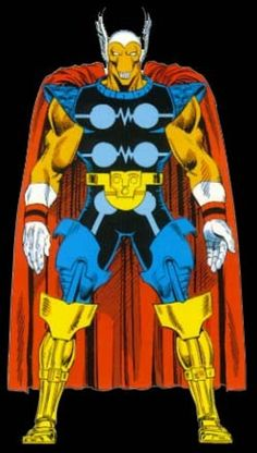 Beta Ray Bill from Official Handbook of the Marvel Universe Master Edition Marvel Comic Universe, Marvel Vs, Marvel Dc Comics, Marvel Heroes, Comic Book Pages, Comic Books Art, Comic Art, Book Art, Marvel Comic Character