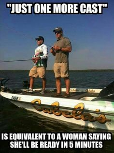 Just one more cast.....