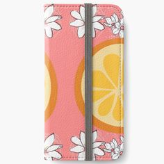 Iphone Wallet, Iphone Cases, Orange Slices, Blossoms, Art Prints, Printed, Awesome, Products, Art Impressions