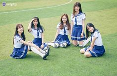 Som Hyein,Park Somyeong, Jang Gyuri,Seo Herin,Kim Joohyun and Lee Chaeyoung