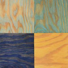 Moonish plywood wall tiles