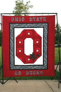 Ohio State Quilt Pattern Free | QUILT FRIENDS FOREVER: Ohio State Quilt / Pay It Forward