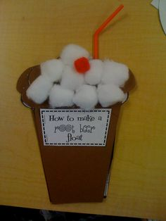 How to make a root beer float - incorporates the states of matter 1st Grade Writing, Kindergarten Writing, Teaching Writing, Writing Activities, Writing Lessons, Writing Prompts, Writing Ideas, Procedural Writing, Informational Writing