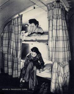 Sleeping berths on the China Clipper