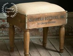 DIY Furniture Plans & Tutorials : Footstool