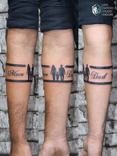 32/2 B.K. Sindhi colony, R.S. chat wali gali, above sweety fashion, Indore Contact:- 9584228615, 7000924824 @leo_tattoo_studio_indore Leo Tattoos, Indore, Arm Band Tattoo, Tattoo Studio, Mom And Dad, Band Tattoo Designs, Dads, Fashion, Moda