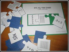 It's All the Same (a Math Puzzle Game)- See how that the same math problem can be written in different ways.