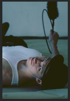 chimney sweeper, male model, photography  photo: Kristýna Hrdličková model:  Filip Vondra