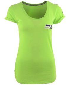 Nike Women's Short-Sleeve Seattle Seahawks T-Shirt