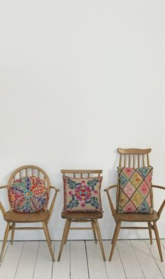 #chairs #cushions #embroidery  Source: before it fades