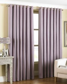 The beautiful purple Amari eyelet curtains are the elegant way to bring a new vibrancy to your room. 5 colours available