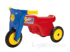 Køb Dantoy Scooter / Skubber med gummihjul - fra 2 år. online - Dantoy