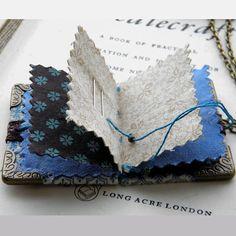 Miniature Needlebook Necklace