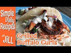 Grilled Buffalo Curls of Epicosity