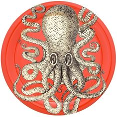 Fornasetti Octopus Print Plate