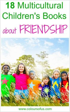 Multicultural Children's Books about friendship, Ages 4 to 10