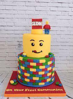 Lego Cake for a communion