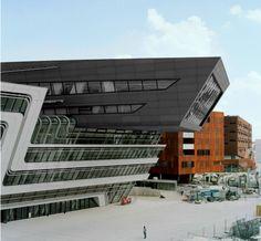 Sistemas de Fachadas | Biblioteca diseñada por Zaha hadid abre sus puertas | http://sistemasdefachadas.com