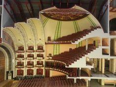 Interior del Palacio de Bellas Artes.
