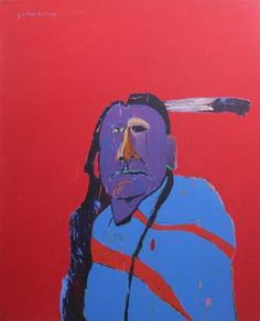 Fritz Scholder and the New Indian Art Movement  Running through the end of April 2012  Larsen Gallery  Phoenix, AZ