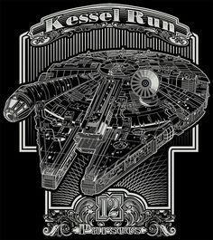 Kessel Run   Millennium Falcon   Star Wars Star Wars Ships, Star Wars Art, Han Solo And Chewbacca, Millenium Falcon, The Force Is Strong, Star Destroyer, X Men, Astronomy, Doctor Who