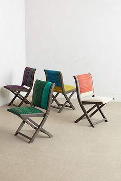 Kantha Terai Folding Chair - anthropologie.com