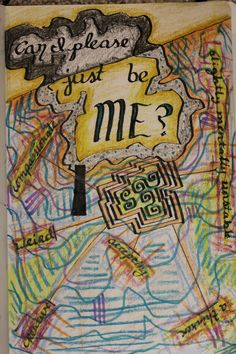"""@createstuff """"Can I just be me?"""" #Day10 #30DoC"""