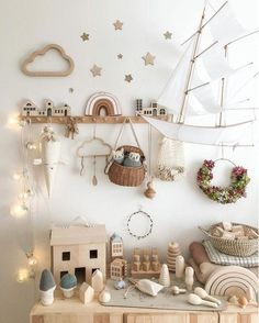 How beautiful is this whimsical and creative nursery and playroom by featuring our Olli Ella MInichari and Holdie House olliella luggy holdiehouse minichari girlsbedroom Nursery pla is par - Nursery Room, Girl Nursery, Girls Bedroom, Nursery Decor, Whimsical Nursery, Bedroom Decor, Bedroom Ideas, Playroom Decor, Kids Decor