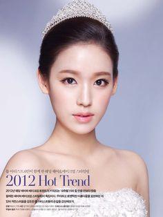Clean & Graceful up-do hair styling / Korean Concept Wedding Photography - IDOWEDDING (www.ido-wedding.com)