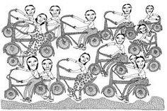 Maria Popova, women on bicycles