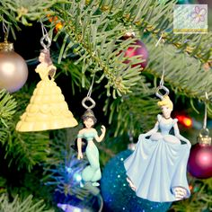 DIY Disney Princess Ornaments