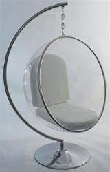 Bubble Chair On Stand Design With Dimensions Eero Aarnio Only Eggchair Egg