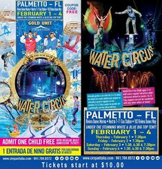 Cirque Italia is coming to Palmetto Florida in front of Riviera Dunes Marina!  This is a must-see show, so head over to the blog for all the important details and get your family's tickets today! #ad #CirqueItalia @CirqueItalia @blogginmamas