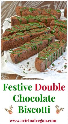 to love these Italian style festive double chocolate biscotti.Biscotti ...