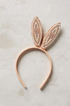 Anthropologie Bunny Ears Headband