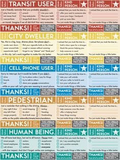 Urban Etiquette Project | Le Projet D'Étiquette Urbaine