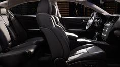 2014 Nissan Maxima® SV shown in Premium Charcoal Leather with optional equipment.