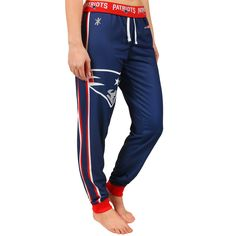NFL New England Patriots Klew Women's Jogger Pants - Navy